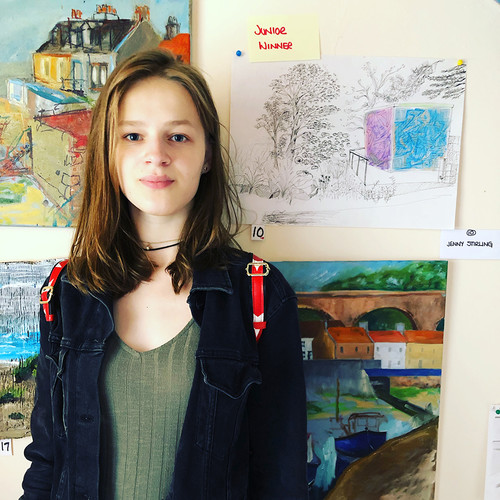Jenny Stirling - Painting Competition Winner