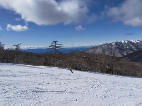 湯の丸スキー場 オープン!