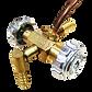 brass valve 90 degree fitting