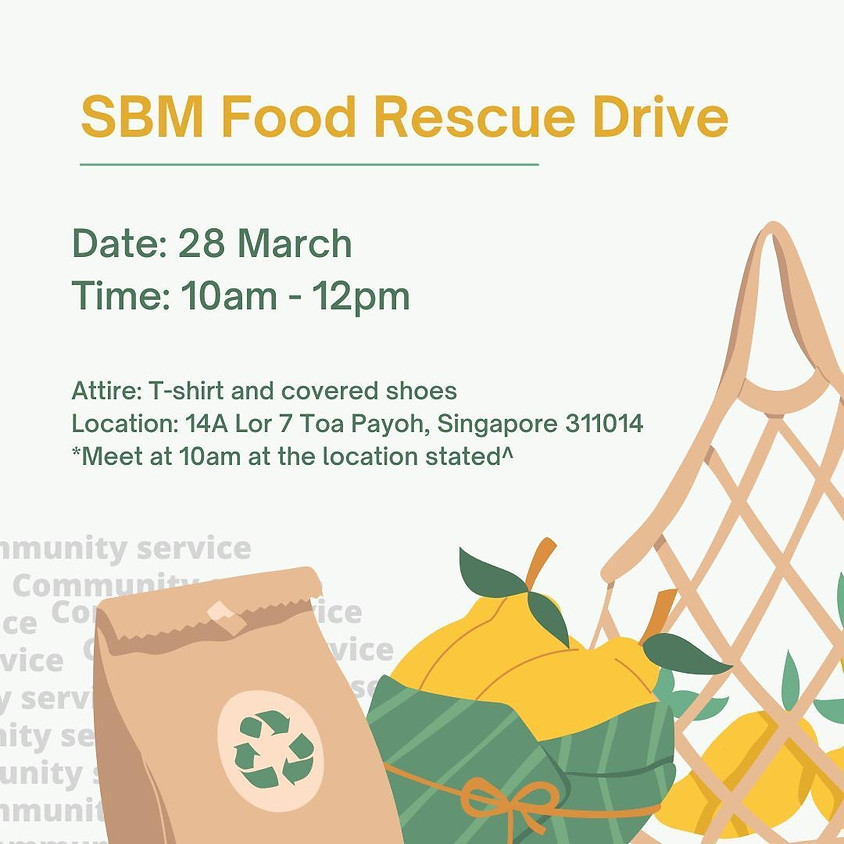 SBMY Presents : Food Rescue Drive