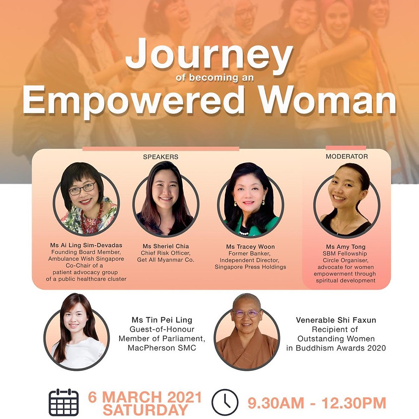 Journey to Becoming an Empowered Woman (IWD 2021 Special)