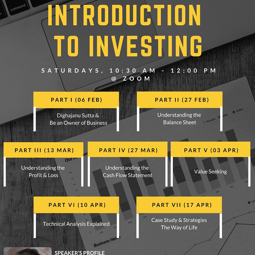 A Buddhist Introduction to Investing Series (By Bro James Khoo)