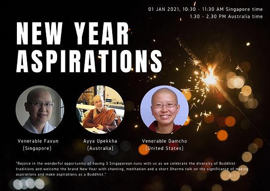 2021 New Year Aspirations