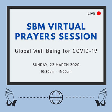 SBM Virtual Prayers Session