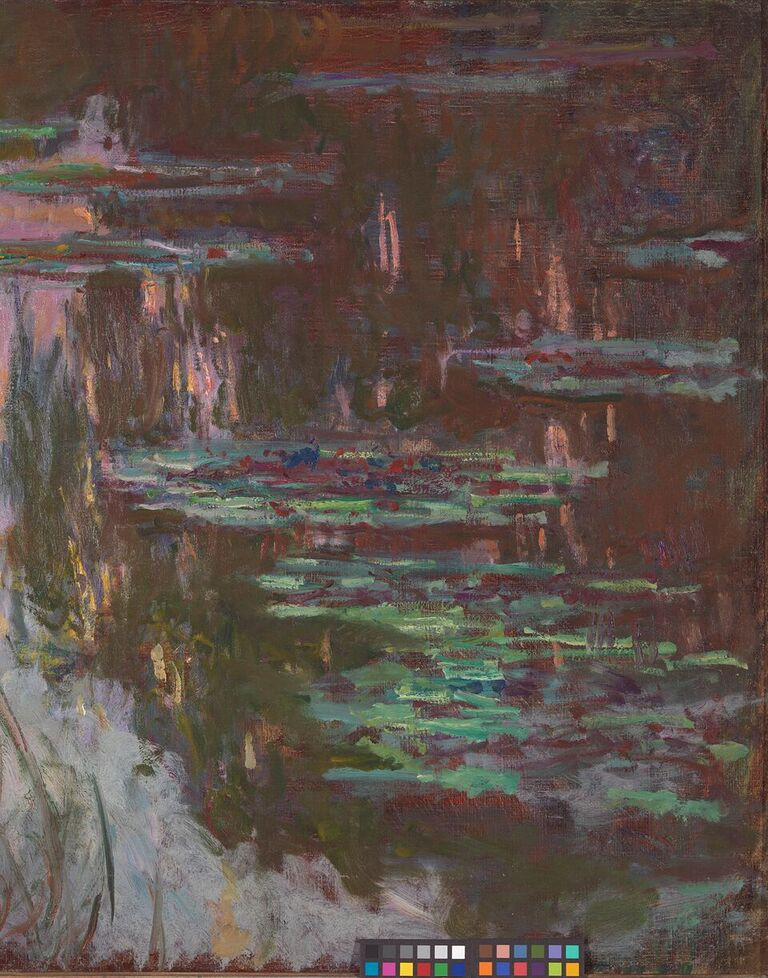 Water-Lilies, Setting Sun, Claude Monet (c) National Gallery, London_preview