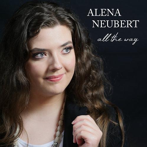 "CD ""All the Way"" Alena Neubert & signierte Autogrammkarte"