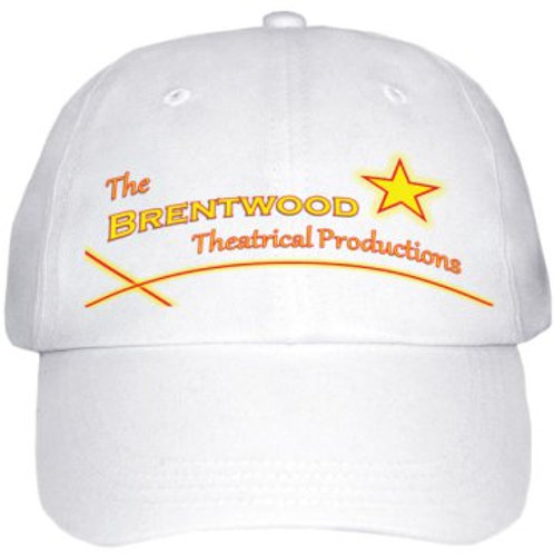 "Baseball-Cap ""The Brentwood Theatrical Productions"""