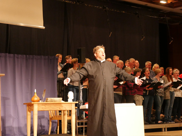 Dominik Heinz und der Basilika-Chor Ilbenstadt