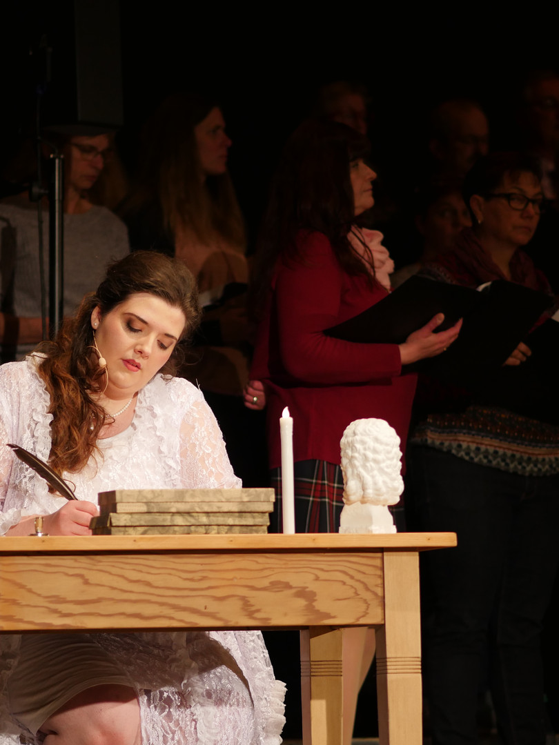 Alena Neubert und der Basilika-Chor Ilbenstadt