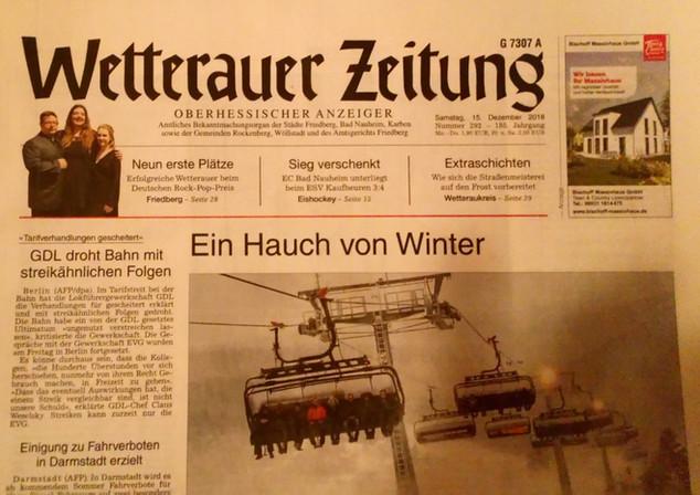 Wetterauer Zeitung 15.12.2018