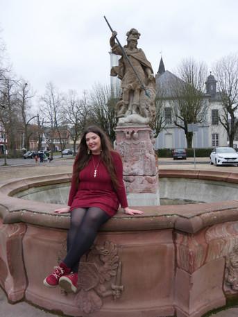 Alena Neubert, Georgsbrunnen, Burg Friedberg, 2021
