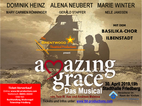 "Plakat ""Amazing Grace"""