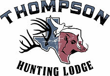 Thompson Hunting Lodge, Deer hunting, Hog hunting, Logo