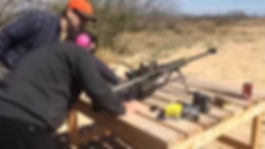 Video of Target practice at the Shooting range