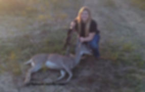 Successful hunt of a whitetail deer by Darien