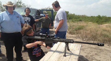 video of  high caliber target practice