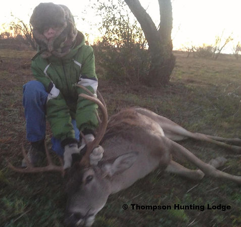 successful hunt, of a Whitetail deer