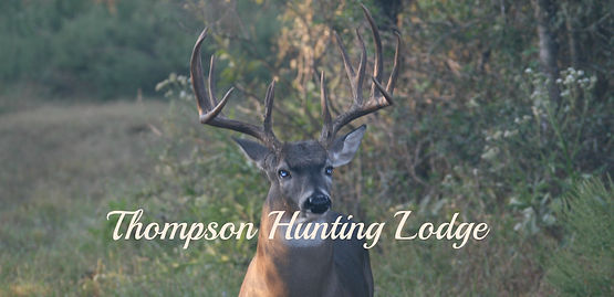 Thompson Hunting Lodge Logo, hog hunting, deer hunting, south Texas