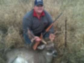 Tom Benson, successful whitetail deer hunt
