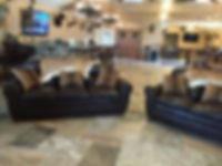 Lodge mini bar, Thompson hunting Lodge