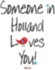 Someone in Holland Loves you