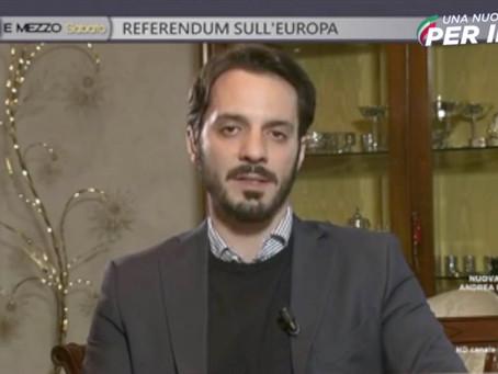"""Interventi di Vincenzo Sofo, ospite a """"Otto e mezzo"""" su La7"""