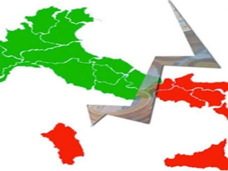 Il Covid sta spaccando l'Italia. Il Recovery Fund deve servire per riunirla