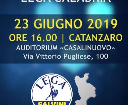 23 Giugno – Stati Generali Lega in Calabria