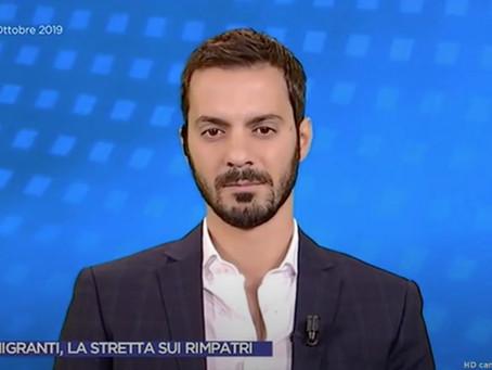 """Migranti, Vincenzo Sofo: """"Ora che non c'è più la Lega si pensa ai rimpatri?"""