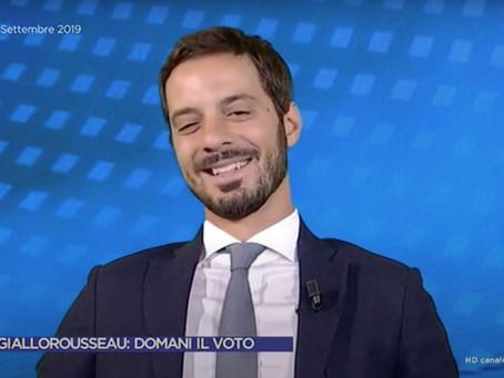Governo, Vincenzo Sofo, Lega: 'In questa trattativa entrano solo nomi e poltrone'