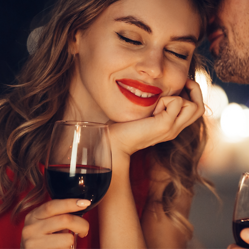 Red Lipstick, Red Wine