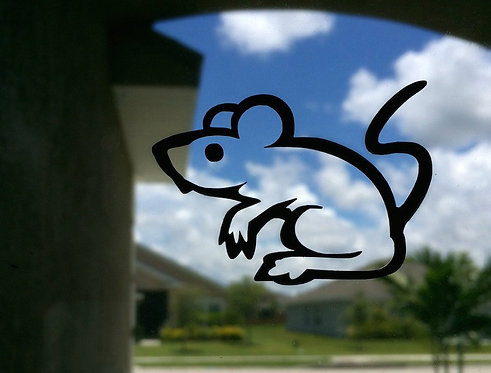 Haunched Rat Decal