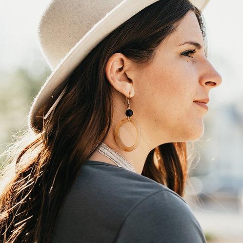 Pembe Loop Earrings