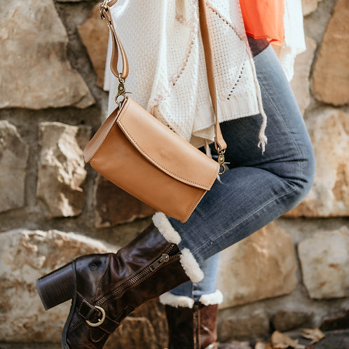 Mtange Leather Crossbody