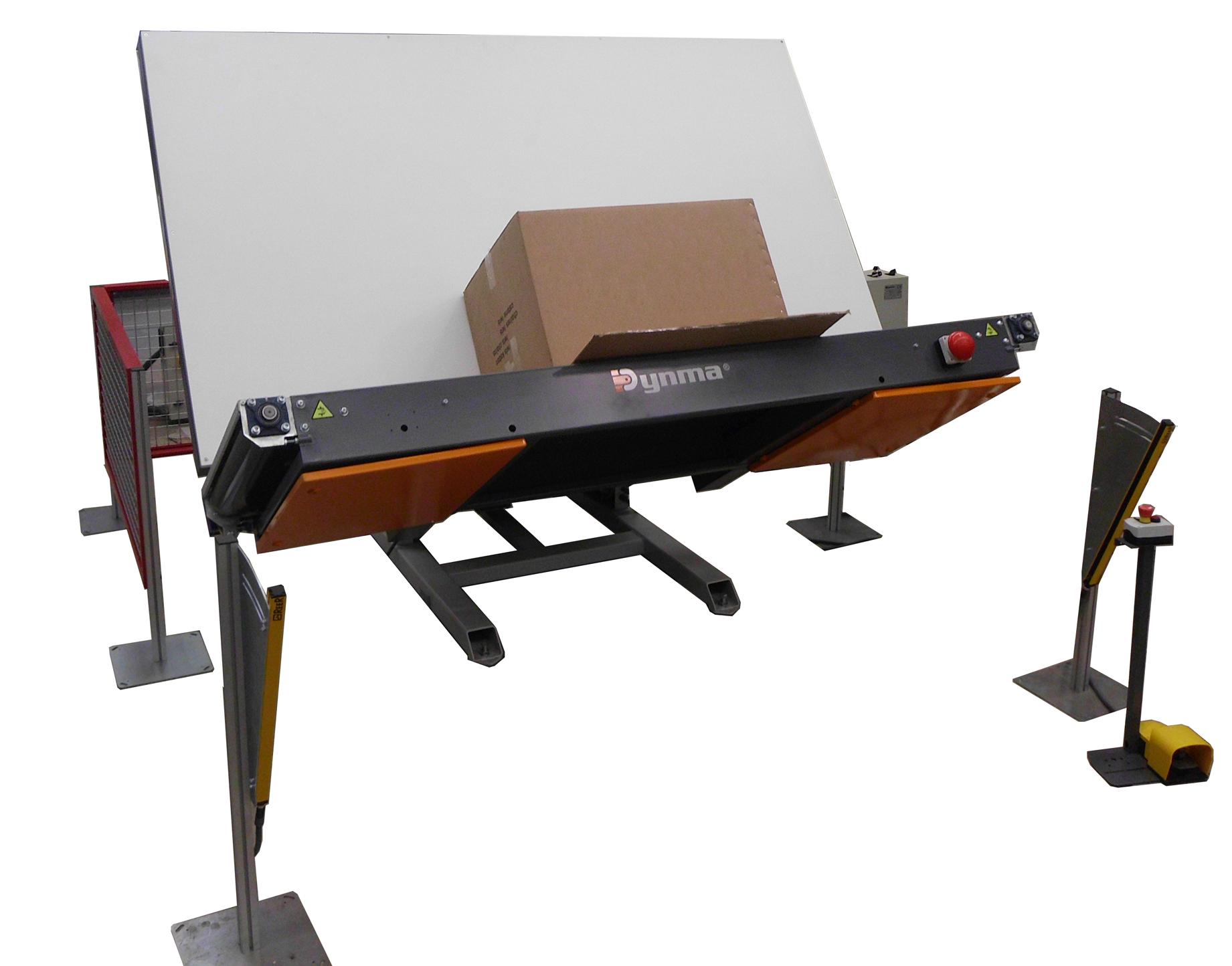 MVE- Table overturner for packaging