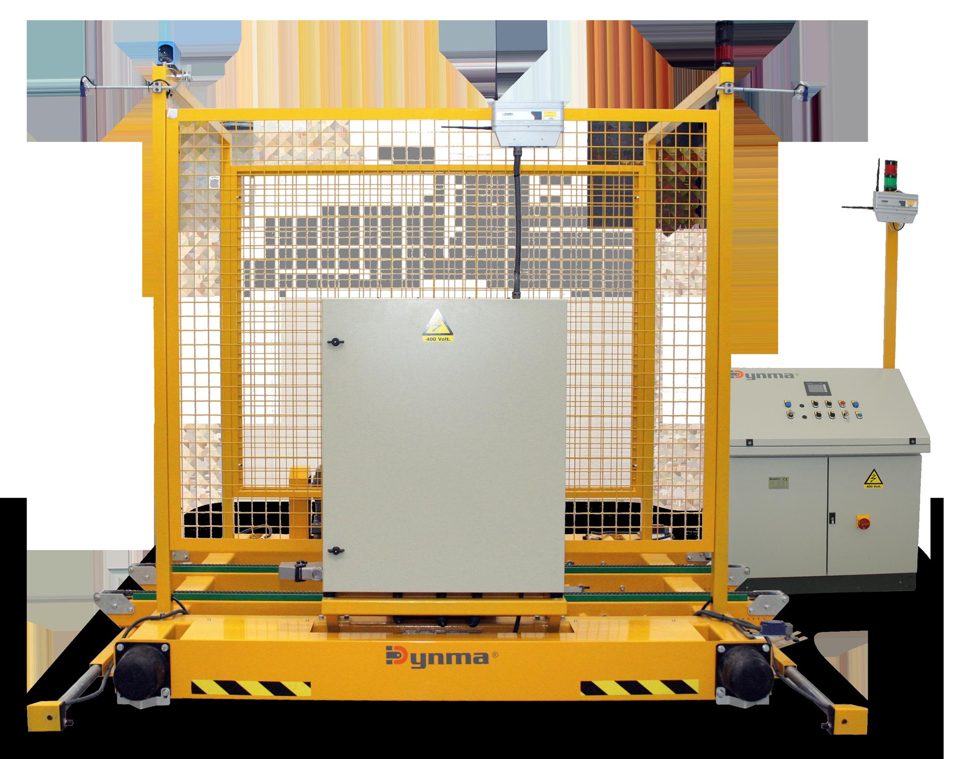 LP -Pallets distribution trolley
