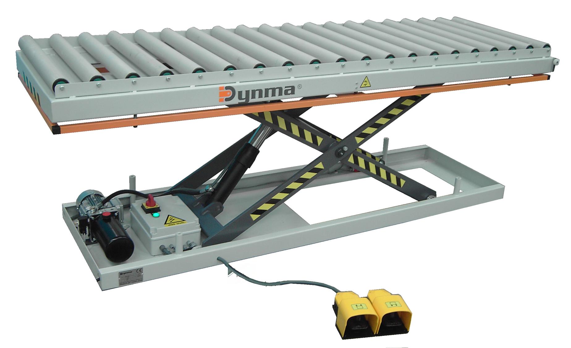PER -Lifting roller platform