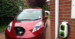 electric motor vehicle