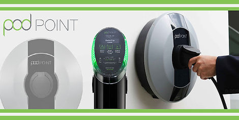 pod point electric car charger