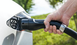 electric charging connection