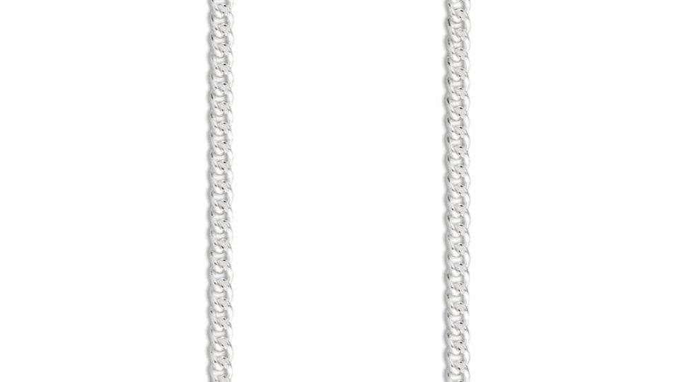 2mm 925 Silver Curb Chain