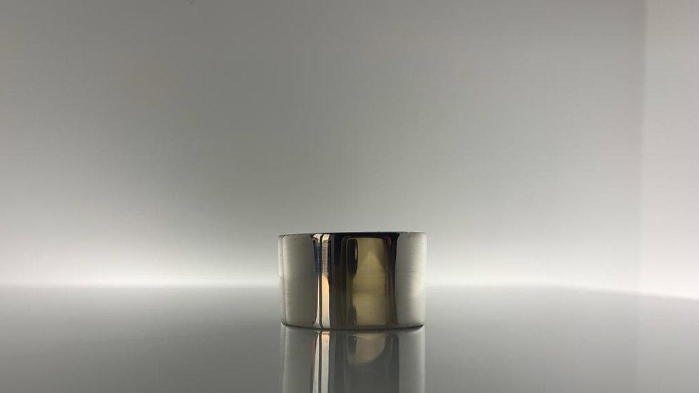 925 Silver Handmade Cigar Band Ring