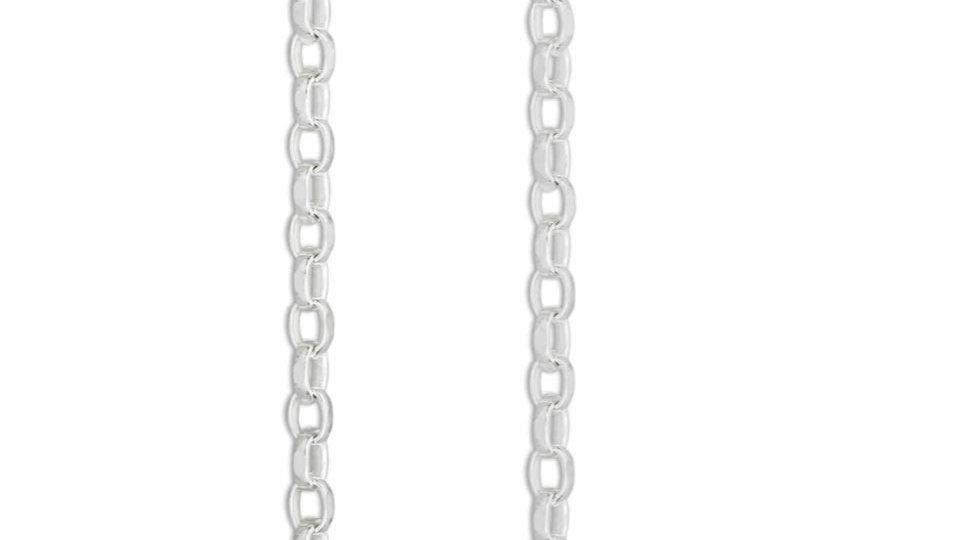 2mm 925 Silver Belcher Chain