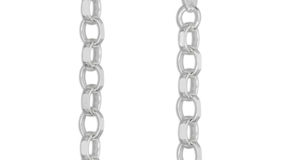 4mm 925 Silver Belcher Chain