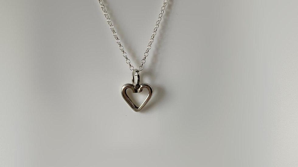 Handmade 925 Silver Heart Pendant