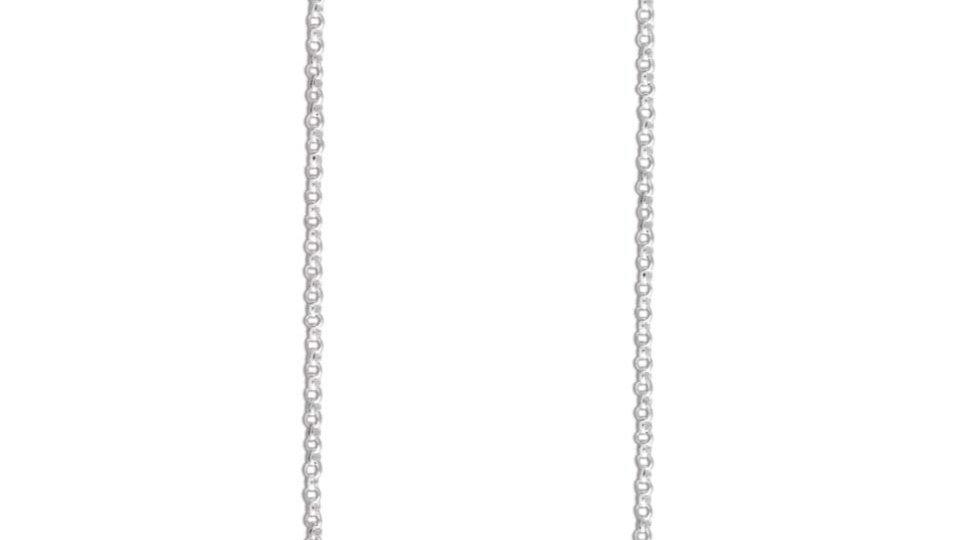 1mm 925 Silver Belcher Chain