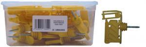 Isolador c/Rosca p/Madeira Nº20 LLAMPEC