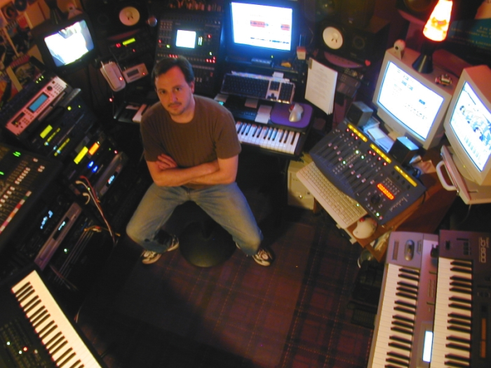 Diego's Studio around '96