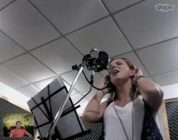 Marjorie de Sousa - Recording