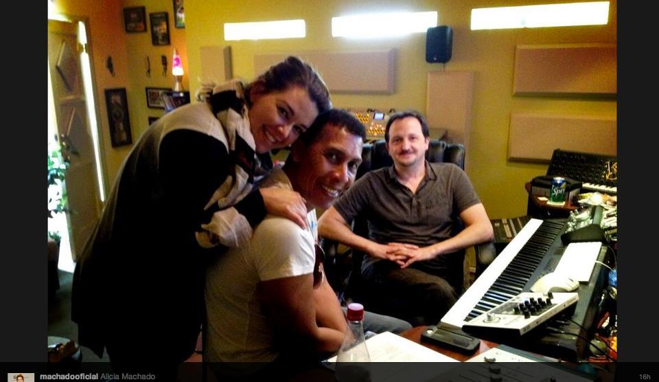 Alicia Machado & Kenny O'Brien